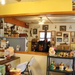 In shop assortment antiques, pictures, and knick-knacks