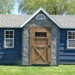 Blue shed sample