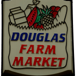 Douglas Farm Market company sign